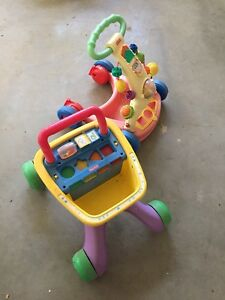 Kids push and ride on toys priced for fast sell