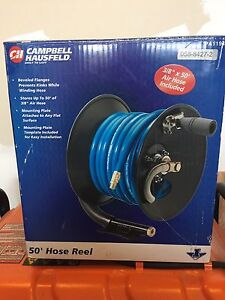 New 50' Air Hose and Reel