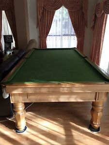 Billiard pool table with accessories Hallam Casey Area Preview