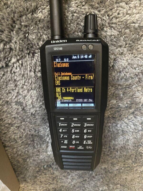 Uniden SDS100 True I/Q Handheld Scanner