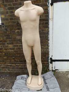 2x-FULL-BODY-6FT-MALE-MANNEQUIN-STAND-NEW-BOXED-FASHION-DISPLAY-MODEL-UK-SELL