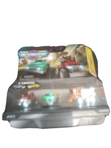 Micro Machine Farm Cars Starter Pack Series 1 Collection 202