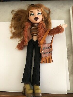 Gorgeous Full Size Bratz Doll Yasmin Extra Long Hair Hispanic with Outfit Shoes