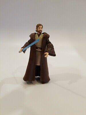 Hasbro Star Wars OBI-WAN KENOBI Star Wars Republic Comic 3.75 Loose Toy #1006