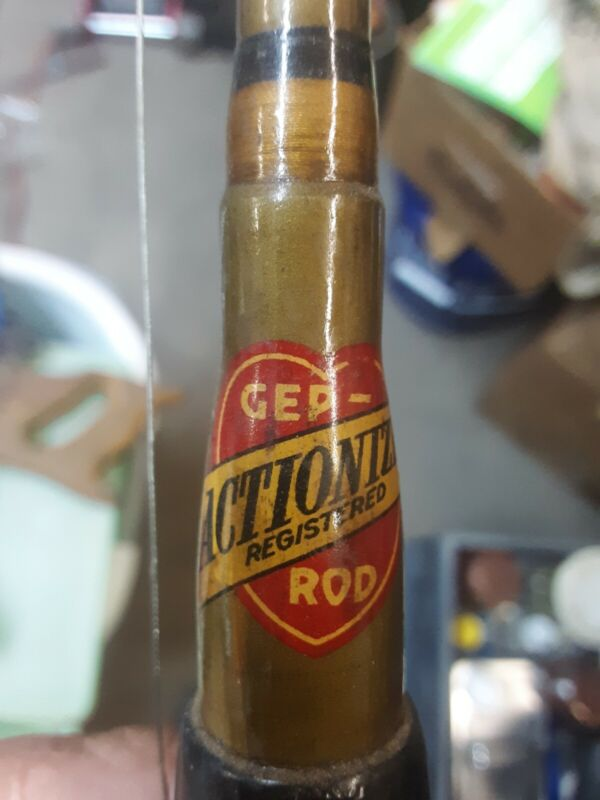 Vintage Gep Actionized Registered Rod 5ft.