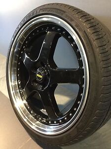 """SIMMONS REPLICA 20"""" ALLOY WHEELS AND TYRES Carramar Fairfield Area Preview"""