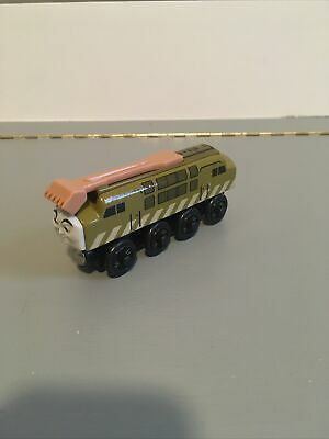 Vintage Thomas The Tank Engine Diesel 10 Train Wooden Railway