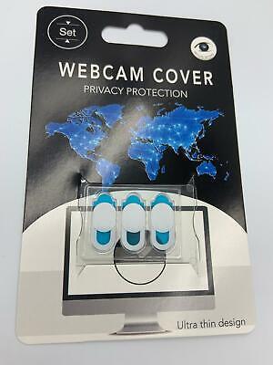 3x Ultra Thin Design Web Camera Cover Slide for Laptop, PC, Macbook iMac iPad