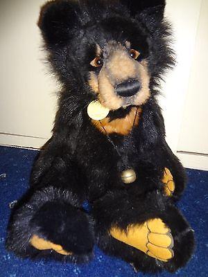 Charlie Bears 2009 Rare Malcolm Bear