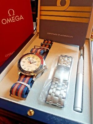 Omega Seamaster 300m Limited Edition James Bond 007 Commanders Watch