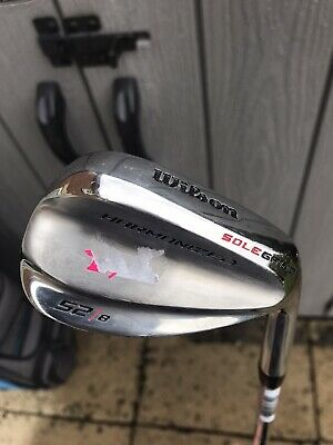 WILSON HARMONIZED SOLE GRIND SPIN GROOVE CHROME GOLF GAP WEDGE 52 Deg/ Brand New
