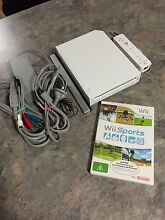 Nintendo wii console game controller cables Golden Grove Tea Tree Gully Area Preview