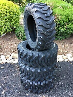 4 New Camso Sks332 10-16.5 Skid Steer Tires For Bobcat Catjohn Deere - 10 Ply