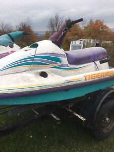 BEST OFFER 2x jetskis and double trailer