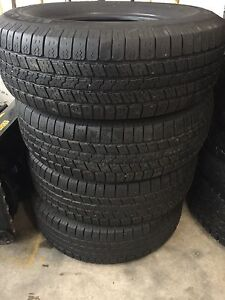 265 70 17 Goodyear Wrangler SRA set of 4 Dodge Ram