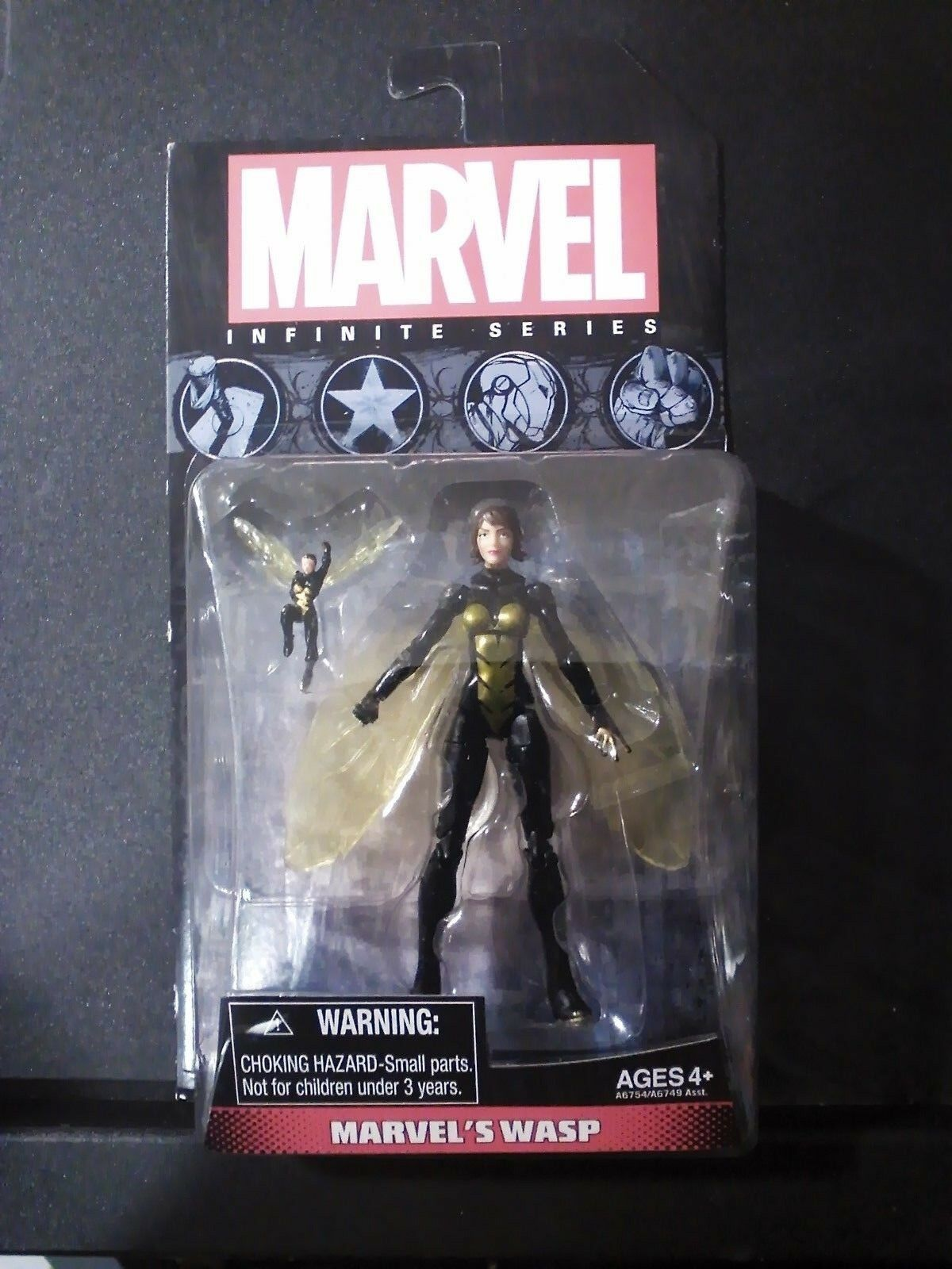 Marvel Universe Marvel's WASP Infinite Series  3.75 Inch Act