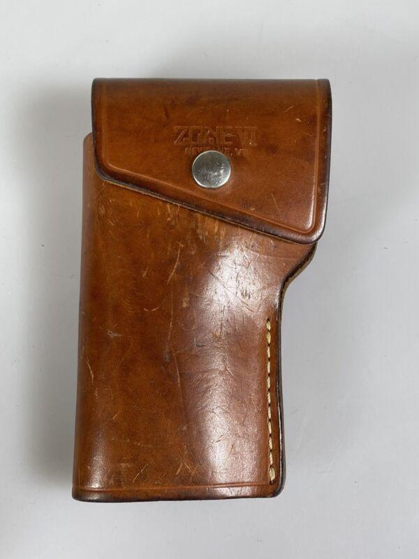 Pentax Digital Spot Light Meter Zone VI Studios Leather Case