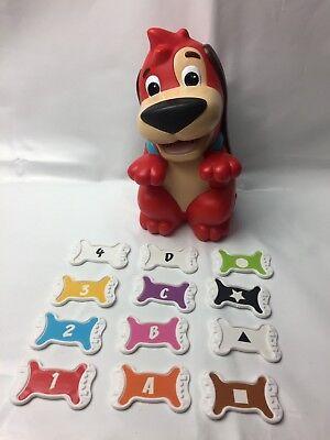 Retro 09 Mattel Red Rover Talking Educational Dog Bones Fun Kids Learning Game