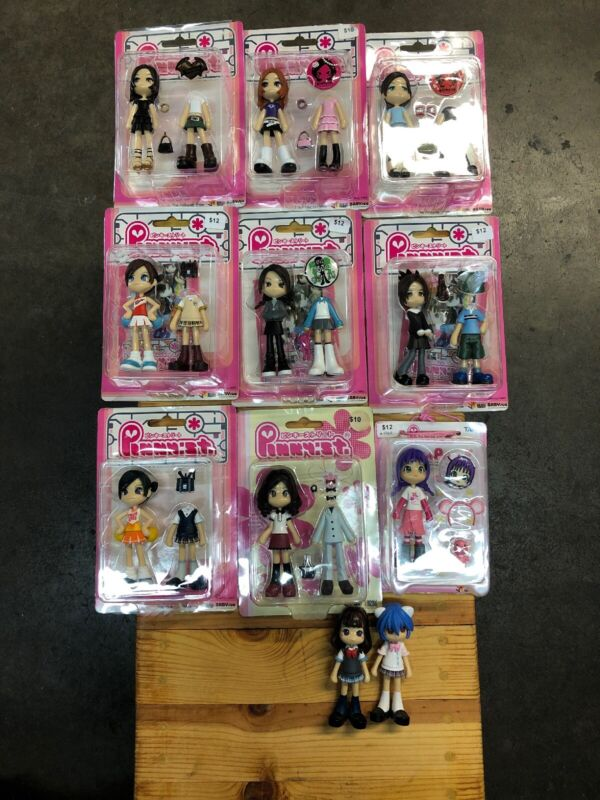Lot Of 11 Pinky:st Street LTD official anime Authentic Figure