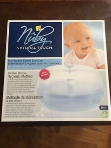 Microwave Steam Sterilizer for baby bottles