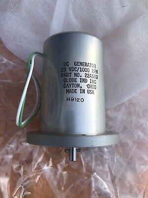 Dc Generator 23vdc1000rpm Made Usa