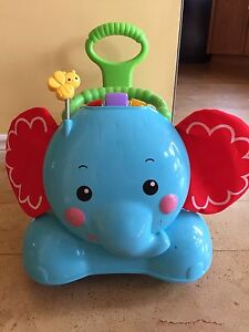 Fisher price 3in1 ride on elephant