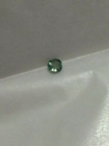 Genuine Natural Alexandrite Color Change 2.90 MM Round .13 Ct