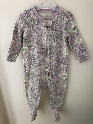 Baby Gap 6-9 Months Zip Sleepsuit