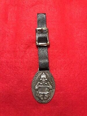 Vintage Dr Pepper Billiken Pocket Watch Fob - Waco, Texas