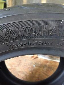 Yokohama tires 195/55/16