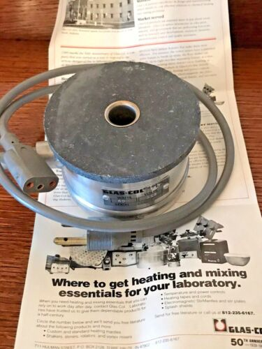 GLAS-COL Aluminum ROUND BOTTOM HEATING MANTLE 115 Volt 60 Watt