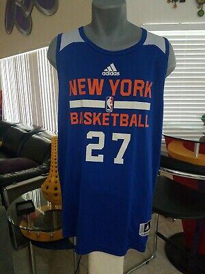 Johan Petro 27 New York Knicks Addidas NBA REVERSEABLE Practice/Workout Jersey