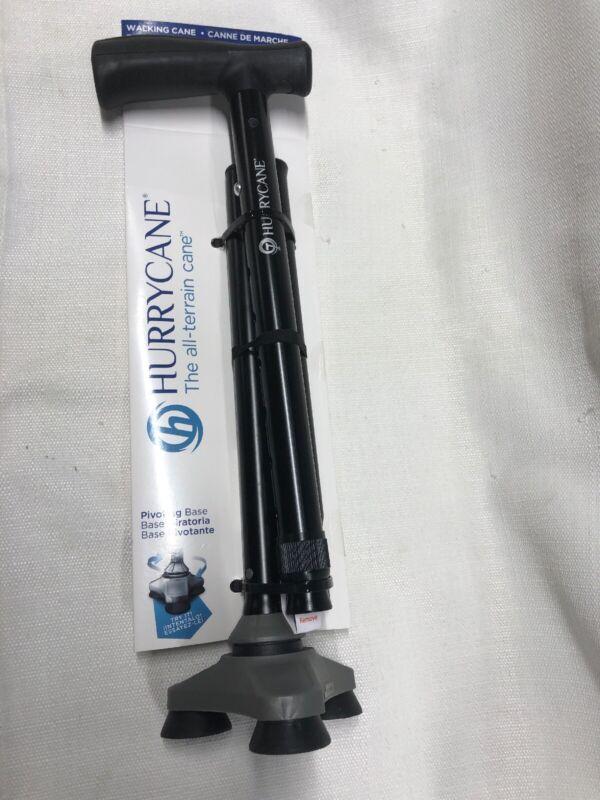 Folding Cane, HurryCane Freedom Edition, Aluminum , HCANE- Black