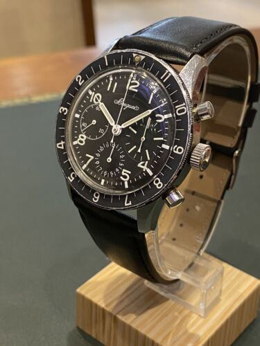 Vintage Chronograph Breguet Type XX Military Movement Valjoux Flyback - watch picture 1