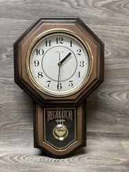 Heirloom  Quartz Westminster Chime Pendulum Wall Wood Clock