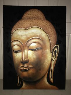 Large Buddha Canvas Print