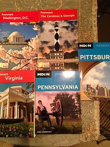 US Travel books  $2 each