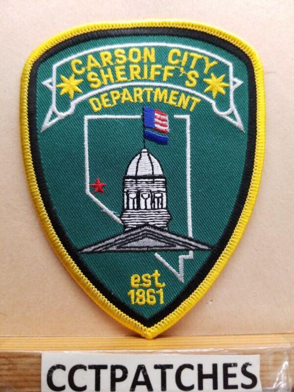 CARSON CITY, NEVADA SHERIFF (POLICE) SHOULDER PATCH NV