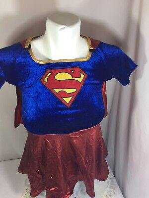 Supper Women Halloween Costume Size Toddler Multiple Color Short Sleeve B78#151 - Halloween Supper