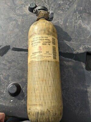 Scott 4500 Psi 30 Min. Breathing Air Tanks Expired