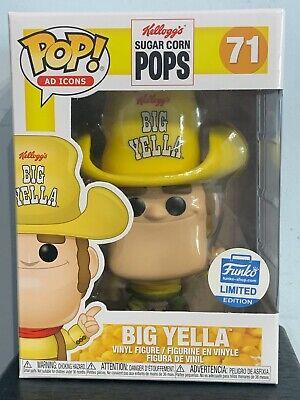 Funko Pop - BIG YELLA 71 - Kellogg's Sugar Corn Pops - AD Icons Funko Shop [19]