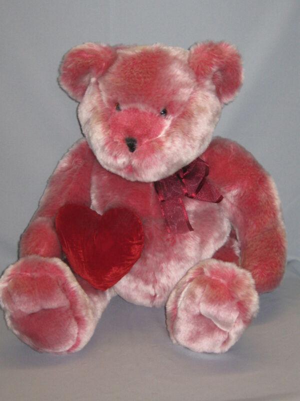 "Chosun Teddy Bear 20"" Red Heart Valentine"