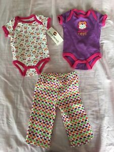 Brand new baby girl clothes 0-3m
