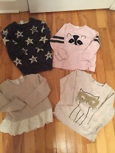 Toddler girl size 2 Sweaters lot