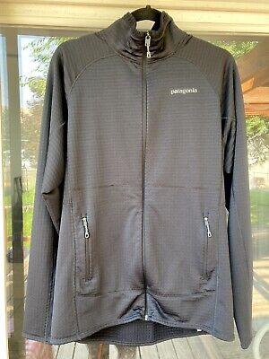 Patagonia R1 Full Zip Jacket Size L Black Barely Worn!