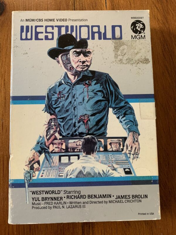 Westworld Beta Betamax Movie - Big Box