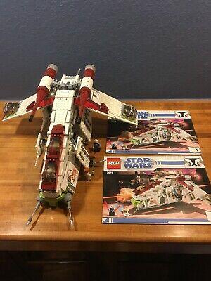 Lego - Republic Attack Gunship - Star Wars - 7676 - 100% Complete - Instructions