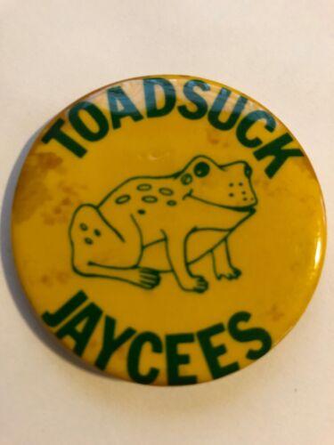 Vintage Toadsuck Daze,  button/Pinback, Conway, Arkansas