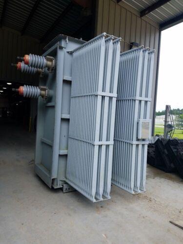 GE General Electric Transformer 3750 Kva Primary 34500 Sec 4160Y/2400 Volt