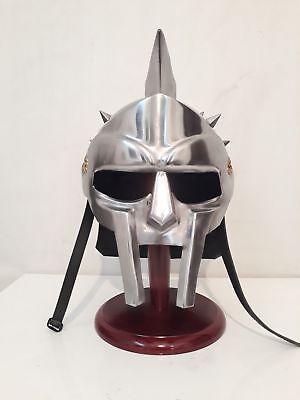 Mittelalterlicher Gladiator Helm Griechischer römischer Ritter Kostüm Rüstung